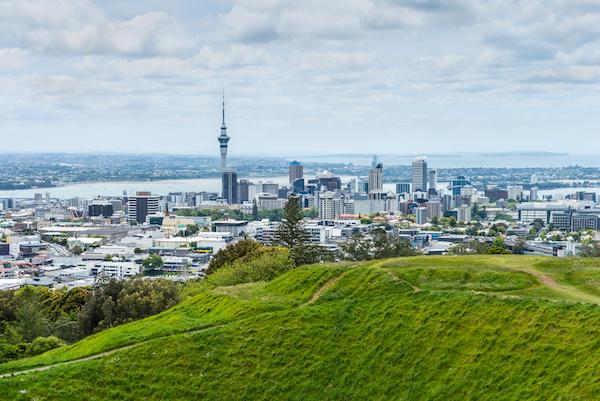 panorama Aucklandu