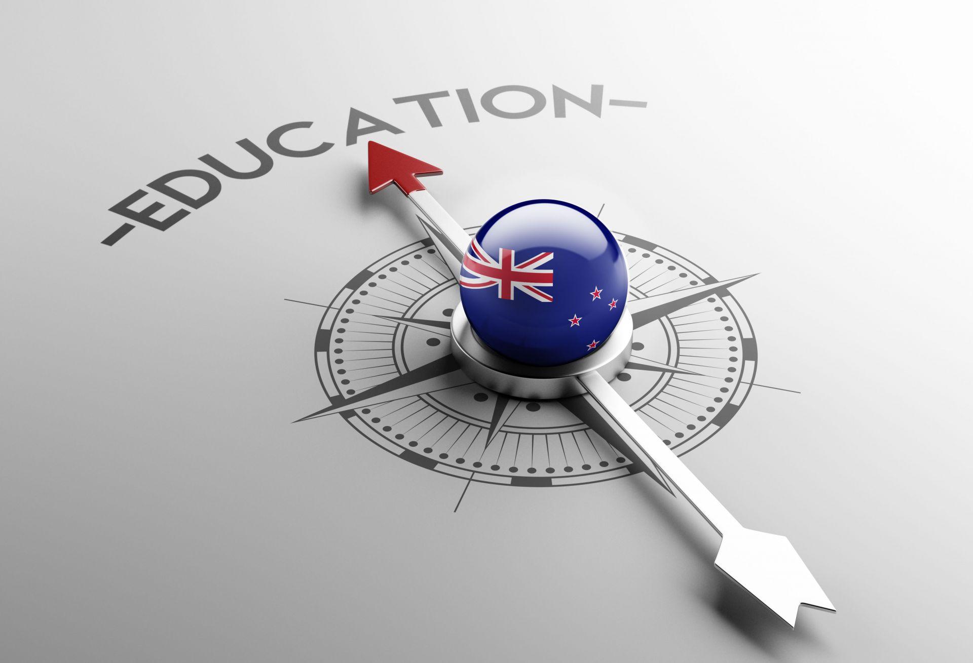 kompas vzdělání na Novém Zélandu