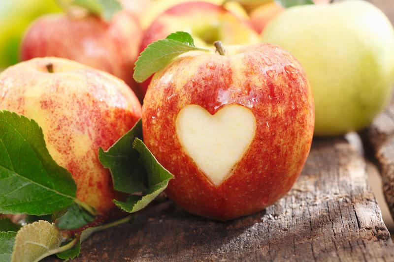 jablka na farmě na Novém Zélandu